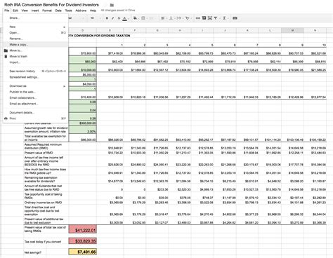 roth ira excel spreadsheet db excelcom