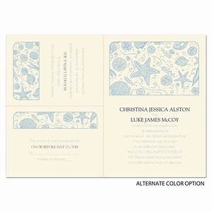 beach gathering separate and send invitation ann39s With wedding invitations separate and send