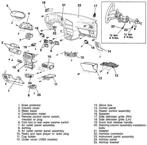 repair guides interior instrument panel autozonecom
