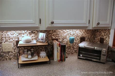 kitchen tile backsplash    artsy chicks rule