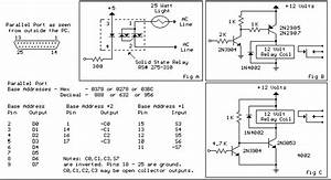 Parallel Port Relay Interface Circuit