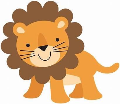 Lion Clipart Animals Clipartion Safari