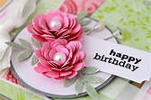 Happy Birthday Flowers Images and Cards for Facebook