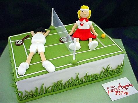 tennis themed cakes tennis cake ideas