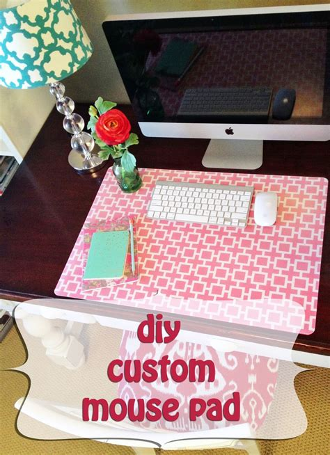diy padded desk personalized desk protector calendar template 2016