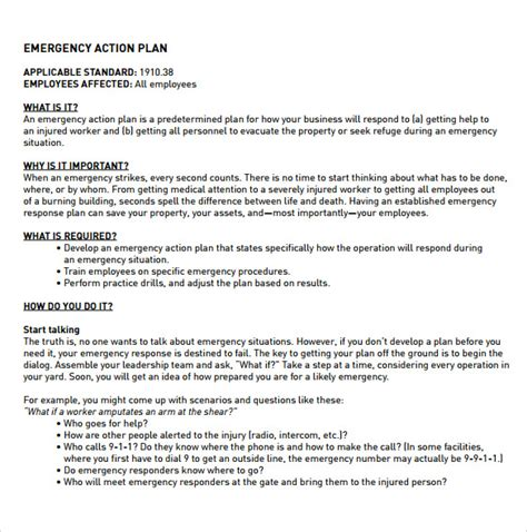 employee plan template 12 sle employee plan templates sle templates