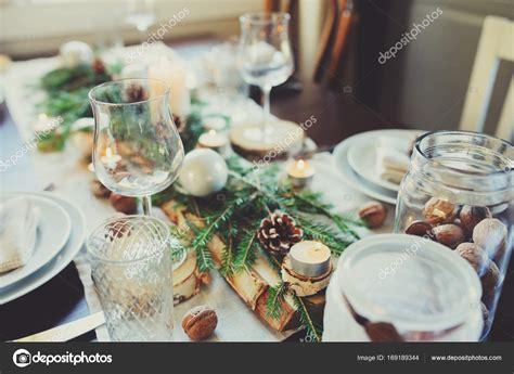 Weihnachtlich Gedeckter Tisch by Festlich Gedeckter Tisch Weihnachten Festlich Gedeckter