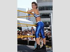 Maria Menounos shows her stuff in scanty outfit as she