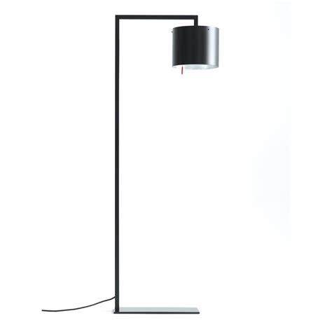 Elegante Stehlampe Anta Afra In Schwarz Schirm Innen Silbern
