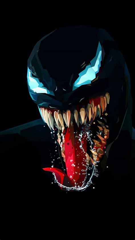 Lock Screen Wallpaper Venom by Venom Artwork Minimal Background Free