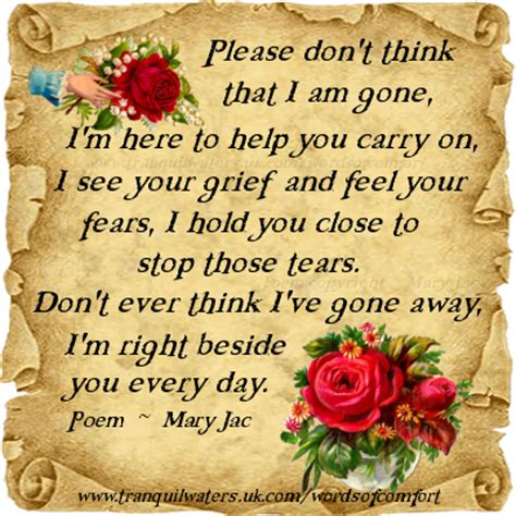 words of comfort for loss words of comfort bereavement poems bereavement quotes