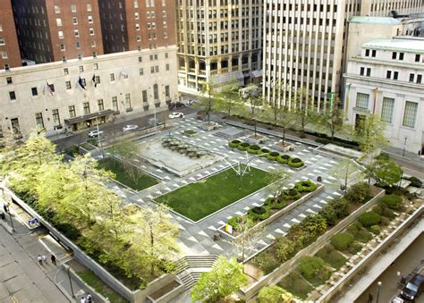 mellon square parking garage another stride in pittsburgh s sustainability mission