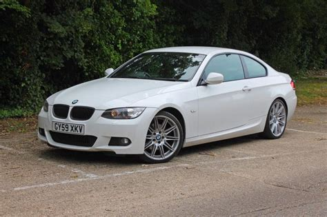2009 Bmw 325i 30 M Sport Coupe White  In Isleworth