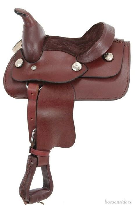 saddle horse miniature western king oil leather dark inch series smooth package saddles tack chicksaddlery