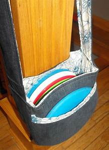 disc golf bag made out of old jeans I have a couple of