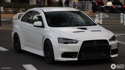 Mitsubishi Lancer Evolution X  6 January 2018 Autogespot