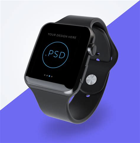 Download the best corporate stationery mockup free psd file for your next corporate branding project. Free Apple Watch Perspective Screen Mockup PSD - Good Mockups