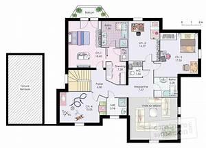 Plan Maison A Etage : maison familiale 10 d tail du plan de maison familiale 10 faire construire sa maison ~ Melissatoandfro.com Idées de Décoration