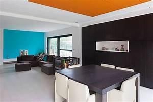 osez la couleur au plafond deco solutions With plafond peint en couleur