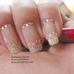 Wedding nail designs bridal