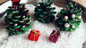 Geschmückte Weihnachtsbäume Christbaum Dekorieren : deko weihnachtsb ume aus tannenzapfen frag mutti ~ Markanthonyermac.com Haus und Dekorationen