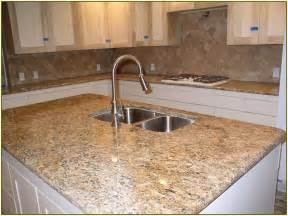 santa cecilia granite with backsplash home design ideas - Kitchen Backsplash Ideas With Santa Cecilia Granite