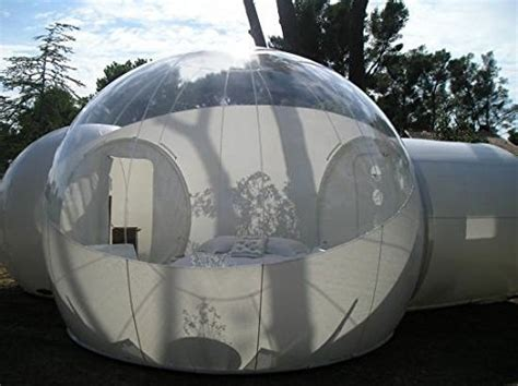 Relaxnow(tm) 2 Tunnel Transparent Bubble Tent Outdoor
