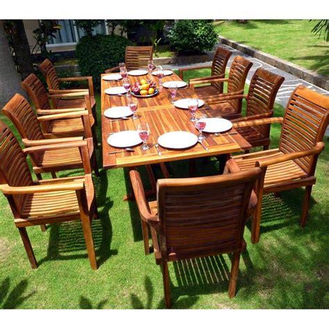 canape teck salon canape de jardin en teck salon de jardin pour