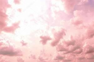 Wolken In Rose : hintergrund der rosa himmel mit wolken stockfoto belchonock 62771385 ~ Orissabook.com Haus und Dekorationen