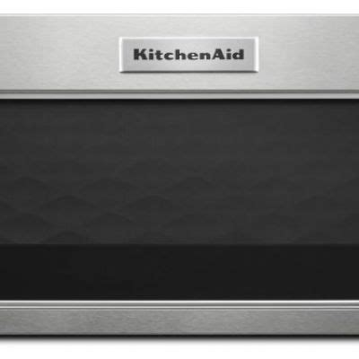 kmlshss kitchenaid  watt  profile microwave hood combination stainless steel