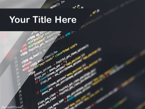 php  template   powerpoint