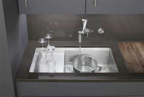 Kohler Stages Sink  Professional Chef Inspired For Heavy. Square Recessed Lighting. Kitchen Designers. Gray Tile Shower. Kitchens By Katie. Metal China Cabinet. Interior Glass French Doors. Faux Fur Area Rug. Small U Shaped Kitchen