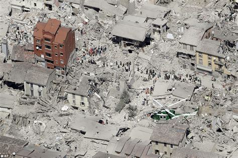 Italy Hit By Two Earthquakes Within Hours Of Each Other