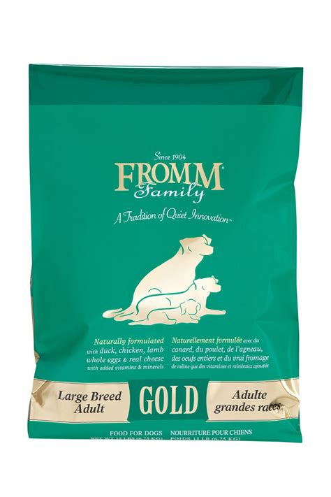 fromm dog food gold large breed adult hollywood feed