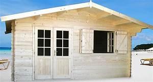 Chalet Bois Pas Cher : abri de jardin lyon 20m chalet jardin en bois en kit ~ Nature-et-papiers.com Idées de Décoration