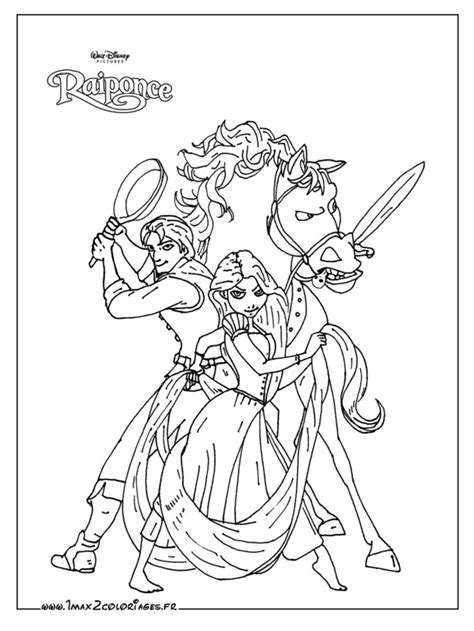 HD wallpapers coloriage a imprimer raiponce pascal