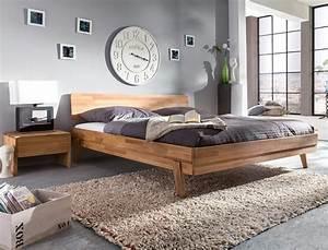 Einzelbetten Aus Holz : bett liano nachttisch wildeiche ge lt massivholz holzbett doppelbett wohnbereiche schlafzimmer ~ Markanthonyermac.com Haus und Dekorationen