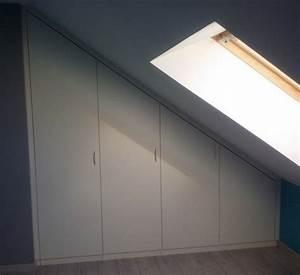 Commode Sous Pente : meuble pour sous pente fabulous meuble pour chambre ~ Edinachiropracticcenter.com Idées de Décoration