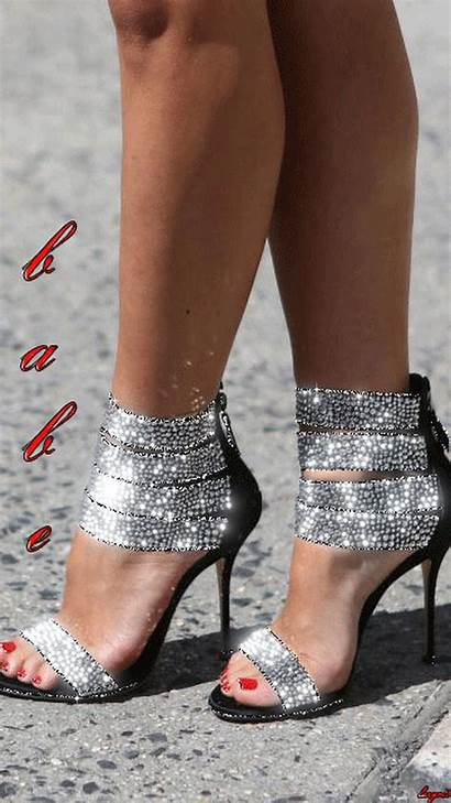 Heels Woman Gifs Boots Paradise Stilettos Schuhe
