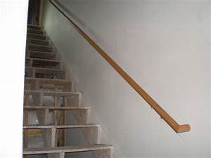 Wooden handrail for stairs http wwwsbadventurescom for Handrails for stairs