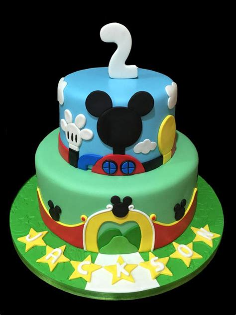 Permalink to Birthday Cakes Mickey Mouse
