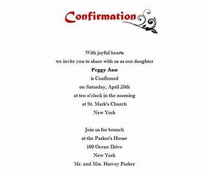 confirmation invitation 1 wording free geographics word With free printable confirmation invitations template