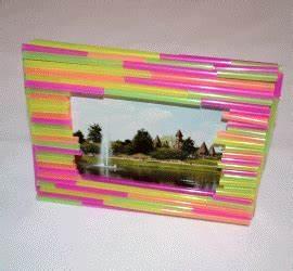 Bilderrahmen Aus Pappe : bilderrahmen aus trinkhalmen basteln ~ Watch28wear.com Haus und Dekorationen