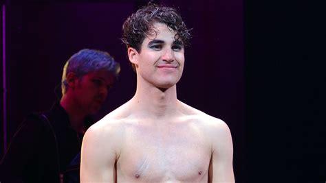 darren criss  shirtless  tight shorts  broadways hedwig broadway darren criss