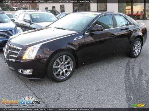 2008 Cadillac Cts Awd by 2008 Cadillac Cts 4 Awd Sedan Black Cherry Photo