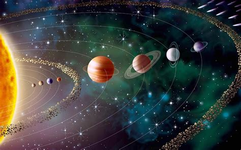 Solar System Windows 10 Theme - themepack.me