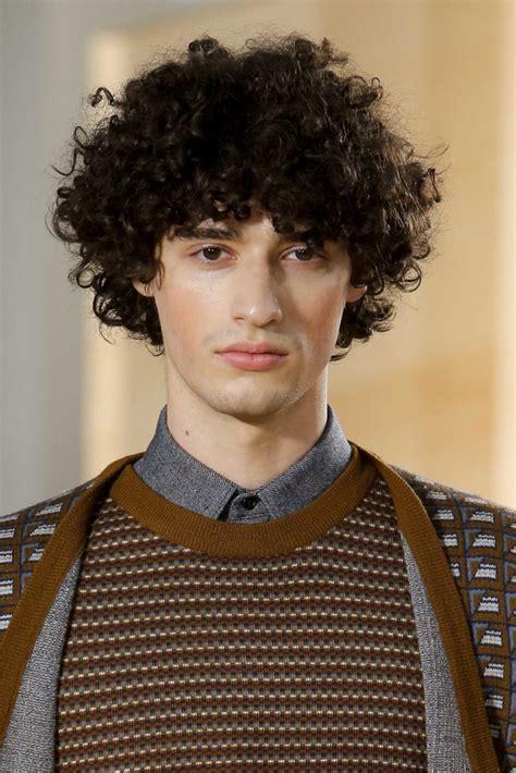 hairstyle ideas  curly hair men