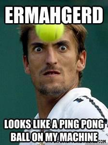 ermahgerd Looks like a ping pong ball on my machine ...