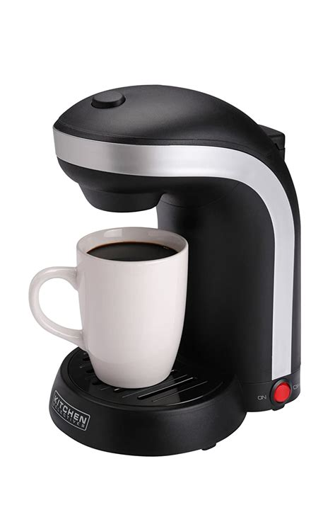 $10.00 coupon applied at checkout. Kitchen Selectives 1 Cup Single Serve Drip Coffee Maker Bean Drink Machine NEW