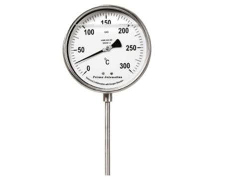 thermometre de chambre b thermomètre à dilatation de gaz contact prisma